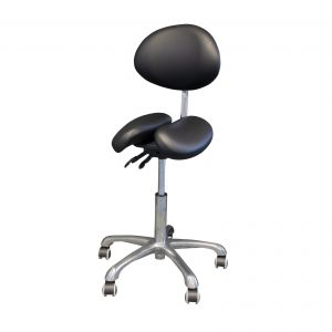 Split Seat Saddle Stool